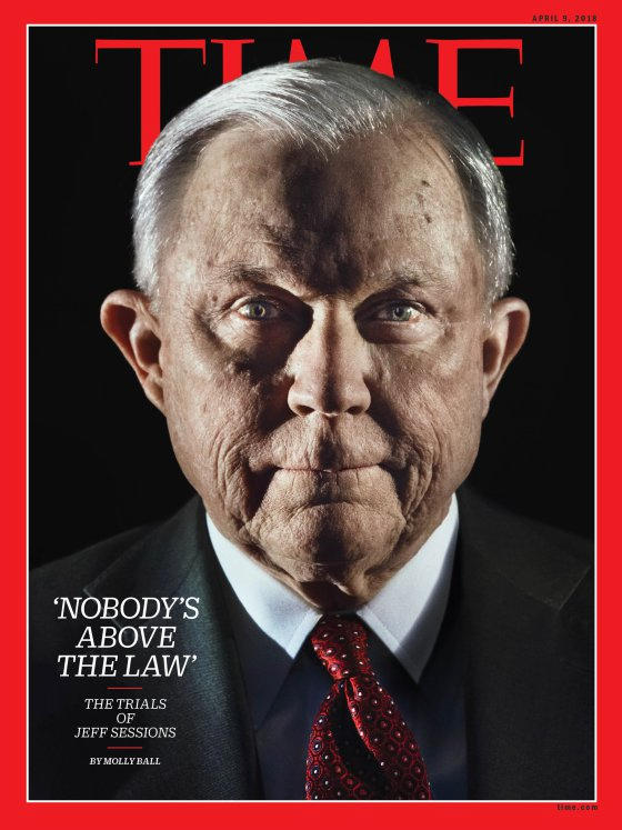 TIME Magazine's Jeff Sessions Cover