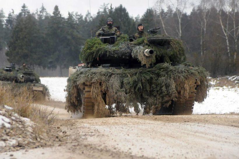 World #1 – GERMANY still won't pay fair share for NATO