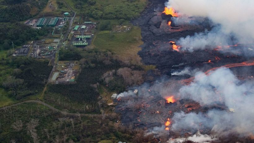 Hawaii races to secure power plant as lava threatens facility
