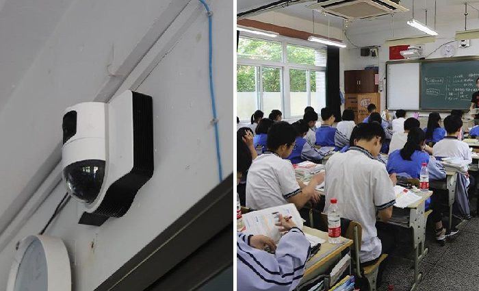 World #3: High school in CHINA using AI to monitor students' facial expressions