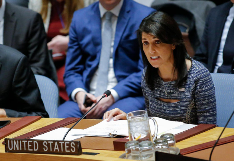 Haley 'taking names': Report reveals which nations have America's back at UN – and which ones don't