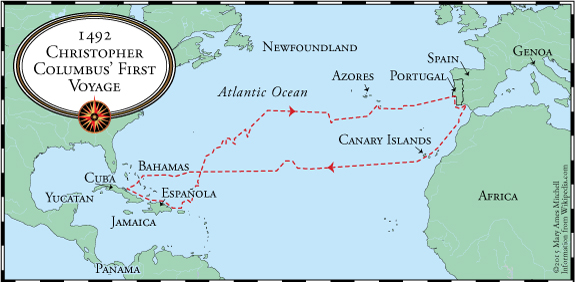 Columbus' First Voyage