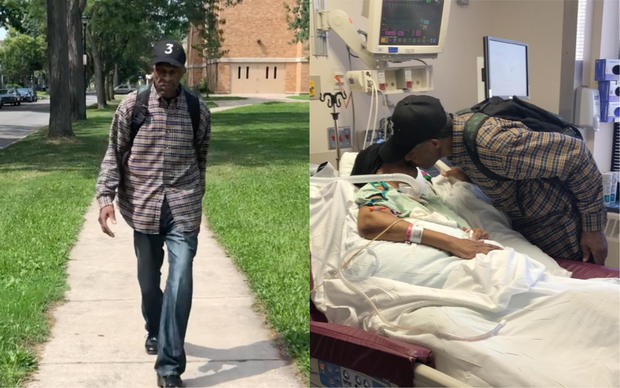 99-year-old walks 6 miles a day to visit wife in the hospital