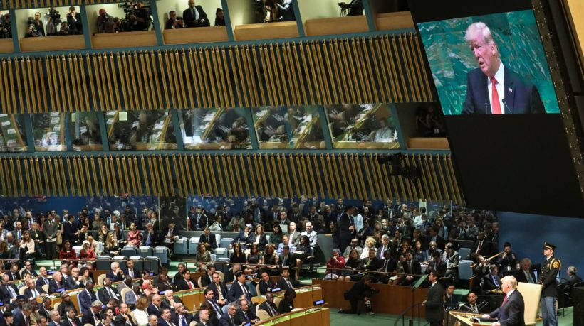 Trump speaks at the UN General Assembly – Part 1