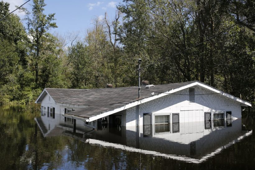 Flooding prevents North Carolina storm evacuees from returning home