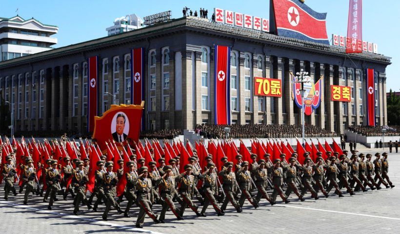 World #3 – NORTH KOREAN media reports military parade, without missiles