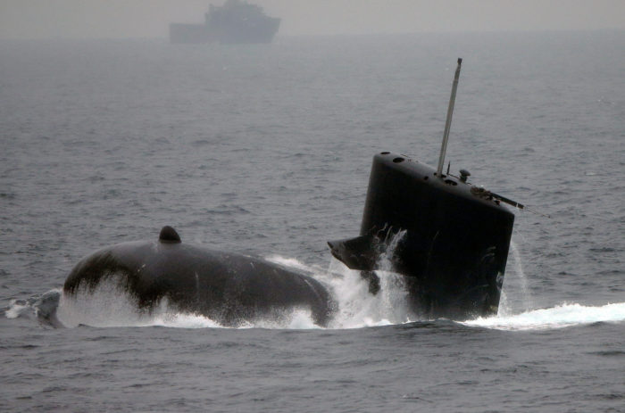 World #3 – Japan challenges China with sub exercise