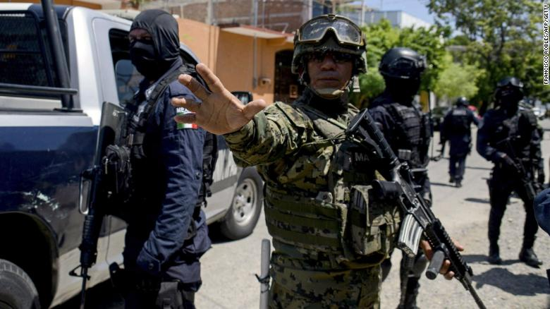 World #1 – Mexico disarms entire Acapulco police force over link to drug gangs