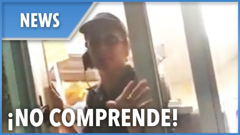 Taco Bell employee refuses to serve customer who doesn't speak Spanish