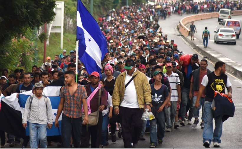 Honduras, Guatemala move to stop migrant caravan after Trump threatens to cut aid