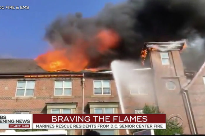 Marines race to save senior citizens from D.C. fire