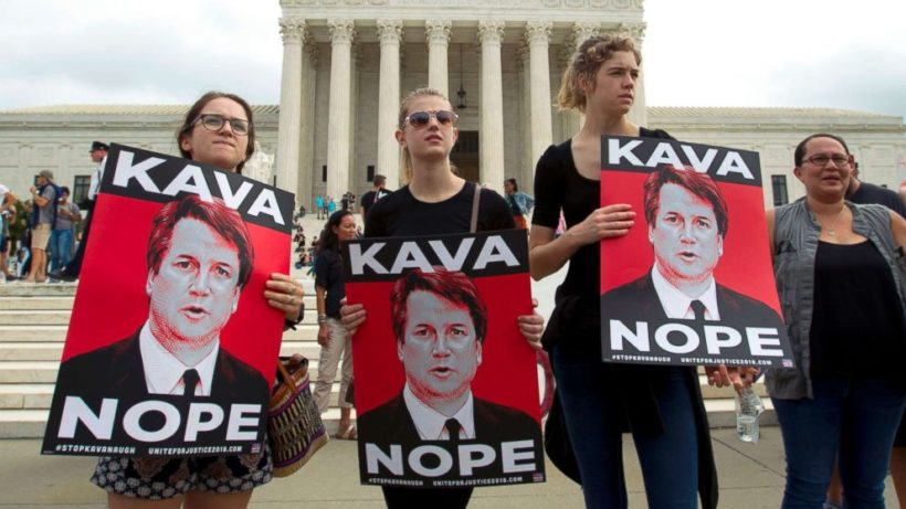 Should the media ask who organized anti-Kavanaugh protests?