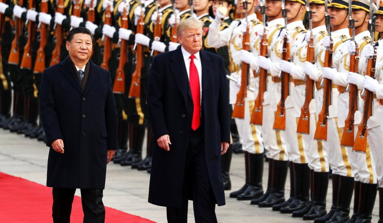 Trump Has China Quaking In Its Boots