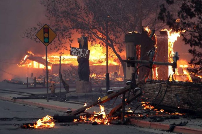 U.S. #2 – CALIFORNIA: Fierce winds expected to fan state's deadliest wildfires