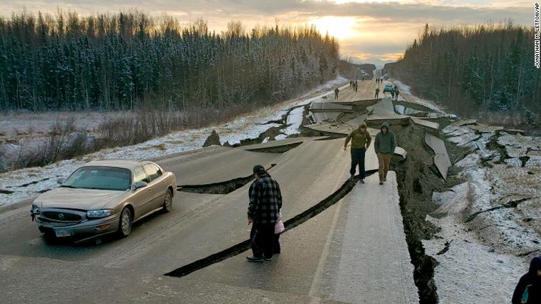 More than 1,000 aftershocks rock region after big quake in Alaska