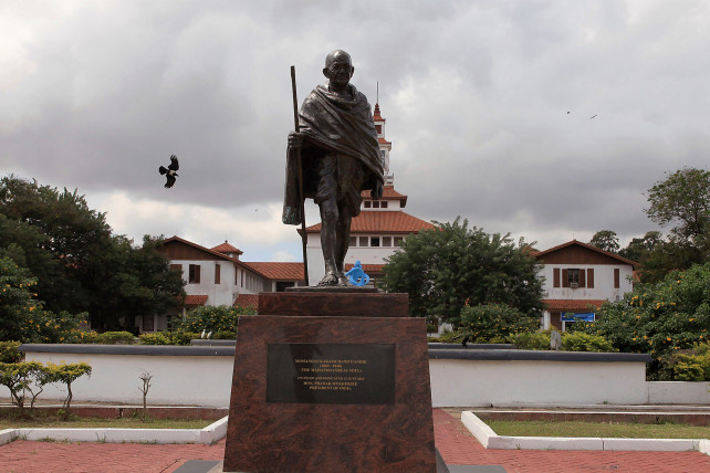World #1 – Gandhi statue removed in Ghana