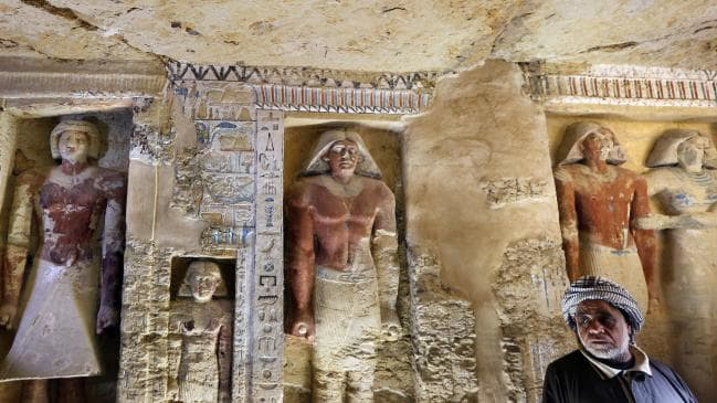 World #2 – Egypt unveils 'one of a kind' 4,400-year-old tomb, expect more finds
