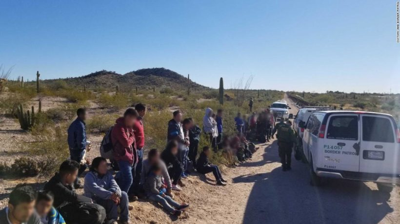New trend: Busloads of migrants dropped off in Mexico walk across border into U.S.