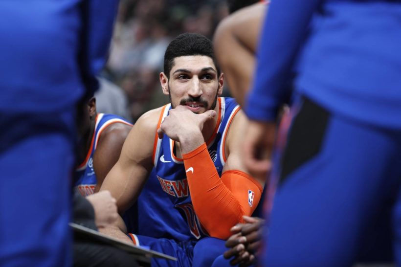 World #1: Turkey seeks arrest of New York Knicks player Enes Kanter