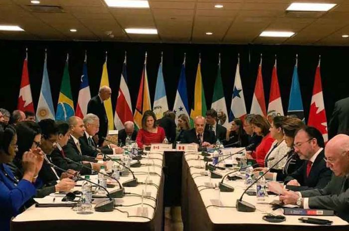 World #1 – Group of Lima nations to deny entry to Venezuelan officials