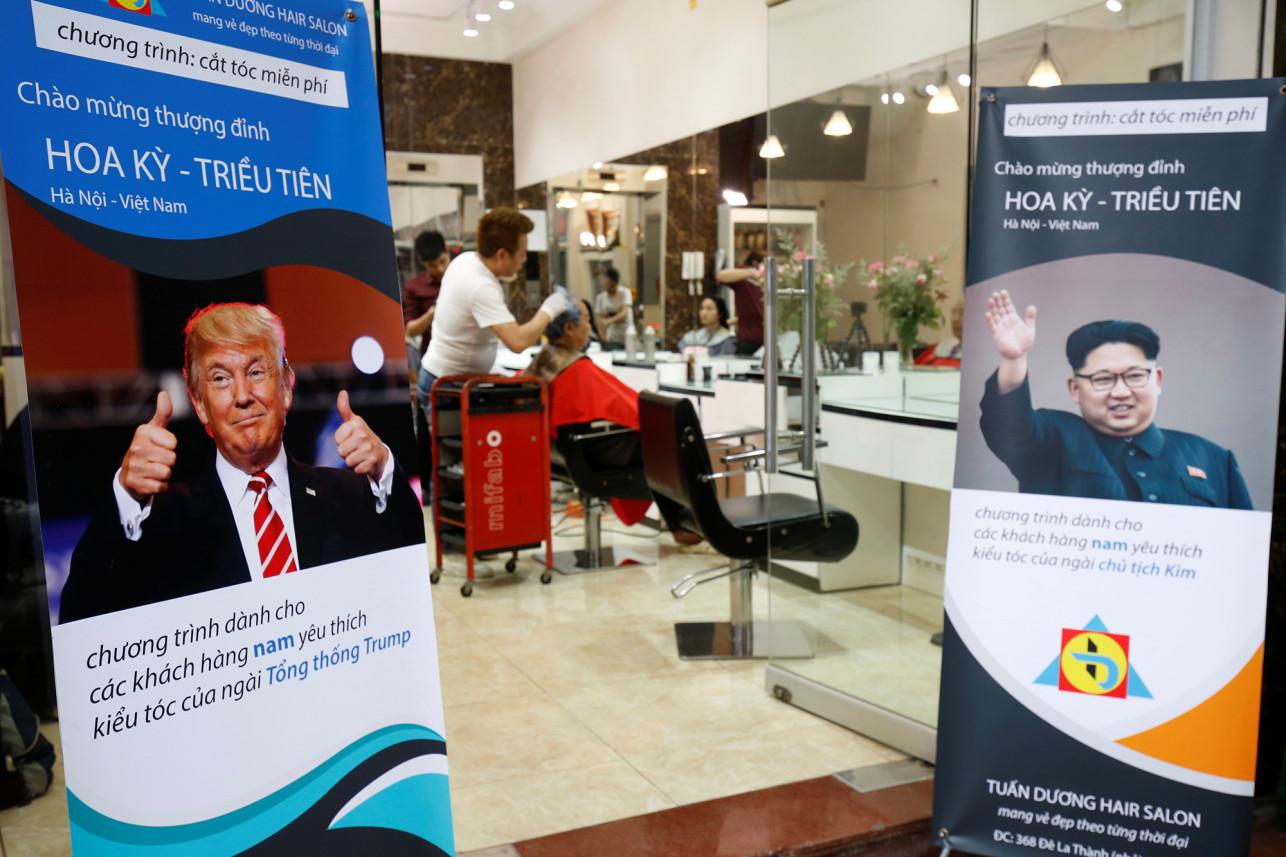Free Trump and Kim haircuts ahead of summit