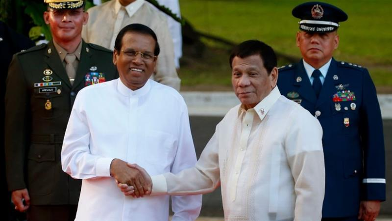 World #2 – Sri Lanka leader ends 43-year moratorium on capital punishment