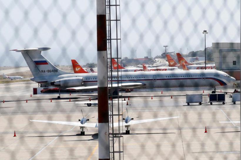 World #1 – Russian military planes seen landing in Venezuela