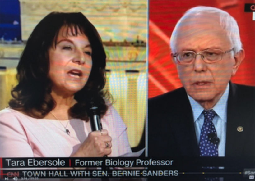 Bernie Sanders set-up by CNN