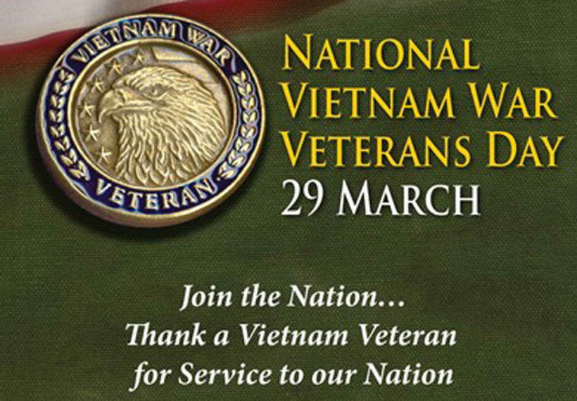 Image result for national vietnam war veterans day 2019