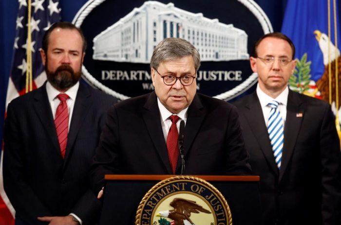 Barr speaks: Trump innocent