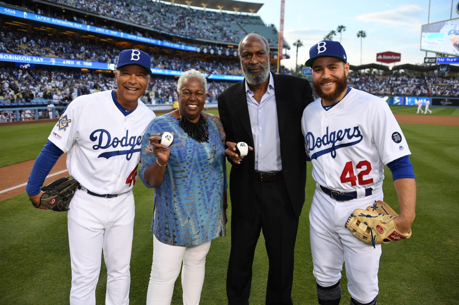 mlb celebrates jackie robinson day in year of his 100th birthday
