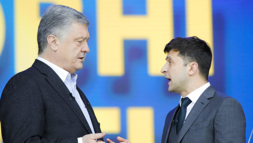 World #1 – Ukrainian comedian wins presidential election by a landslide