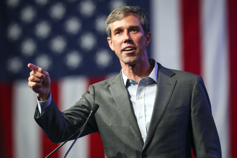 AP describes O'Rourke speaking in 'His native Spanish'