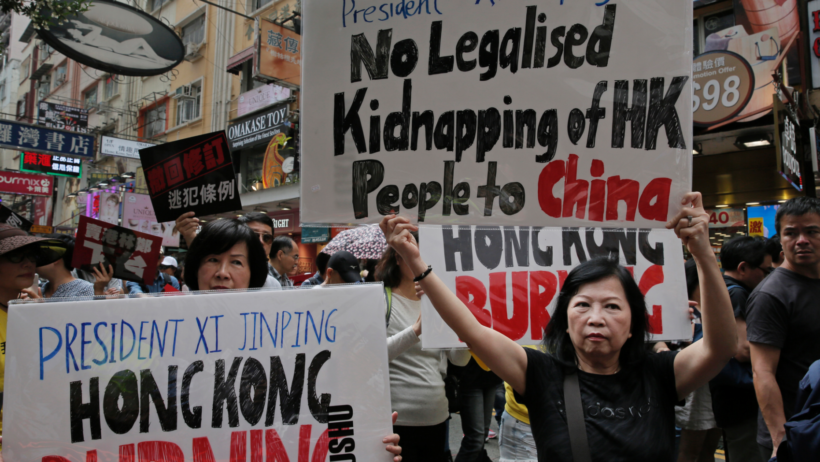 World #2 – Thousands march in Hong Kong against extradition law