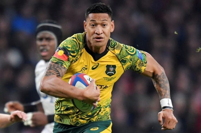 World #2 – Australian Rugby superstar's contract terminated for tweeting religious beliefs