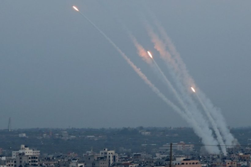 Israel hit by 600 rockets from Gaza