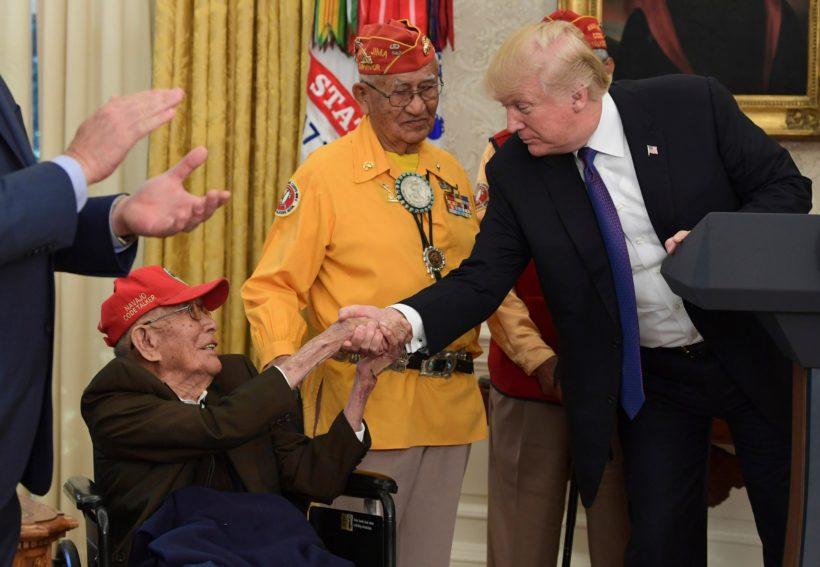 Navajo Code Talker Fleming Begaye Sr. dies at 97