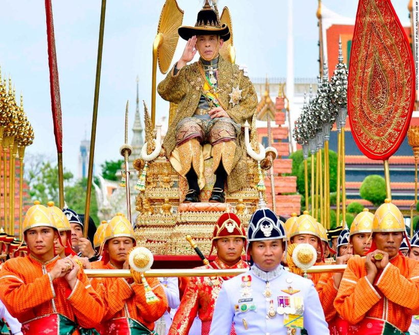 World #2 – Thailand crowns new king for 1st time in 69 years