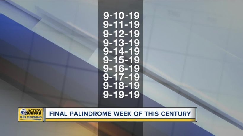 Final Palindrome Week of the Century