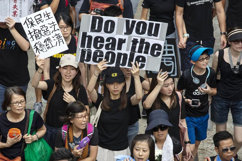 Hong Kong May Topple Communism