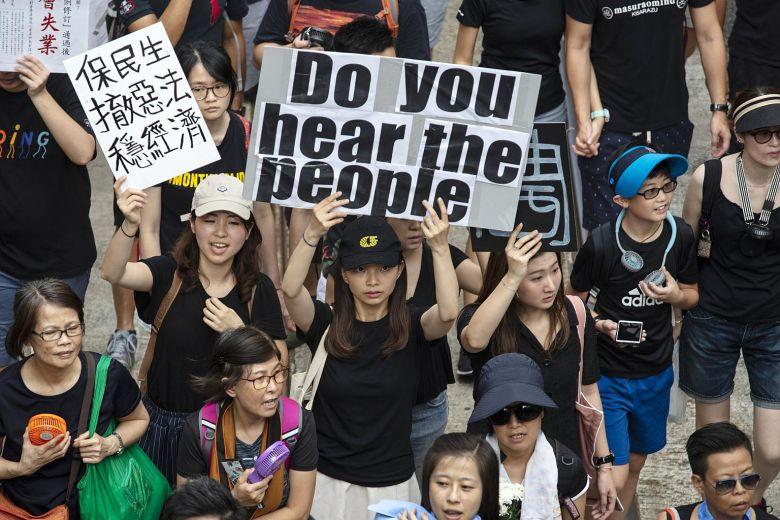 Hong Kong May Topple Communism