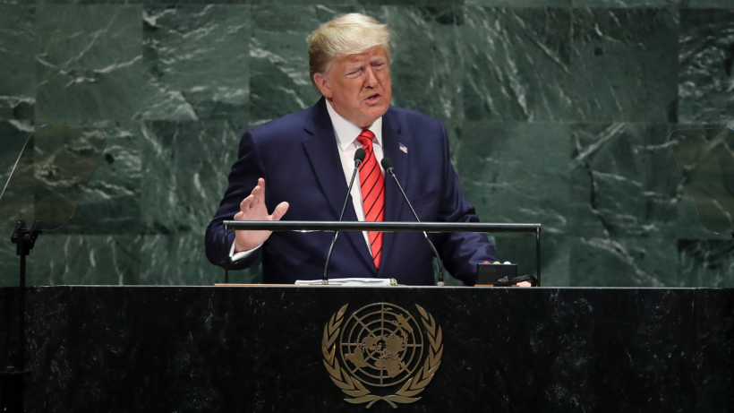 Trump to UN: Mass illegal immigration is unfair, unsafe and unsustainable