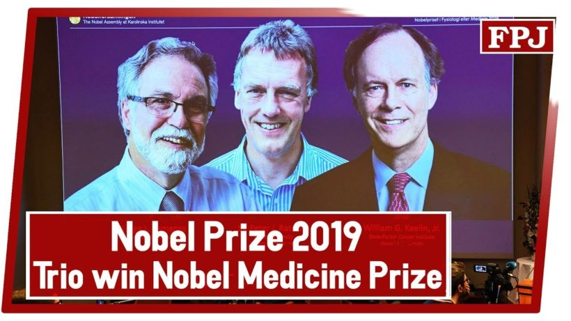 3 win Nobel for learning how cells use oxygen