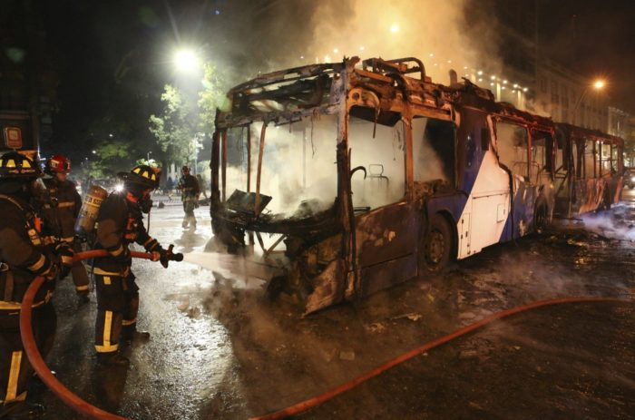 World #2 – Chile protests over subway fare hike leave 8 dead, state of emergency declared