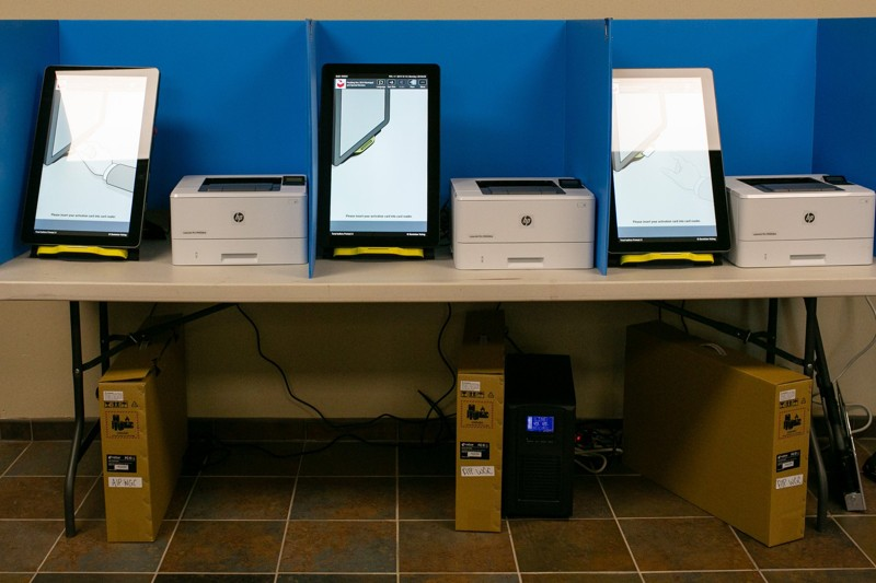 Georgia's new paper ballot voting system