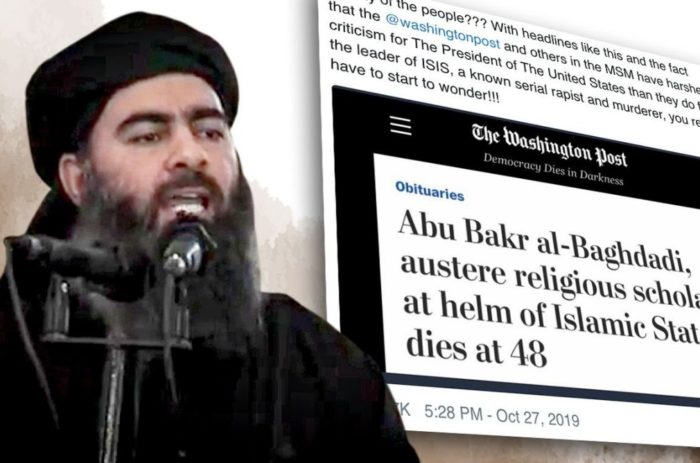 "Washington Post labels ISIS terror leader ""austere religious scholar"""