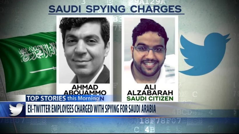 World #2 – Twitter employees charged with spying for Saudi Arabia