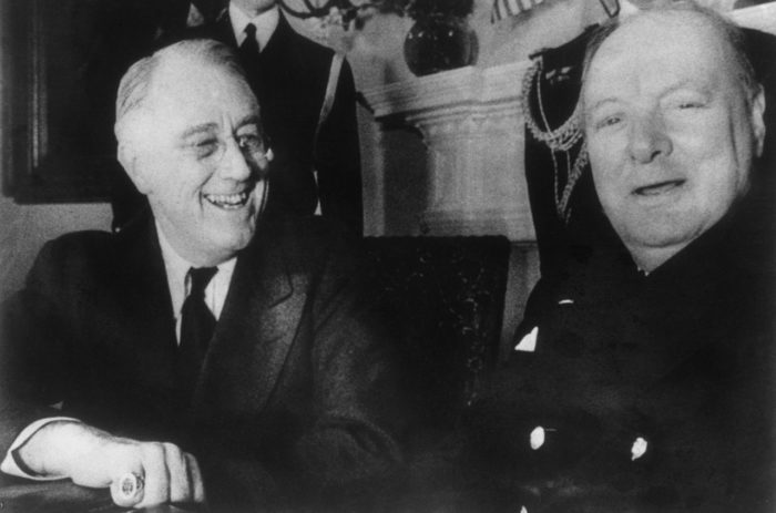 FDR and Churchill, Christmas 1941