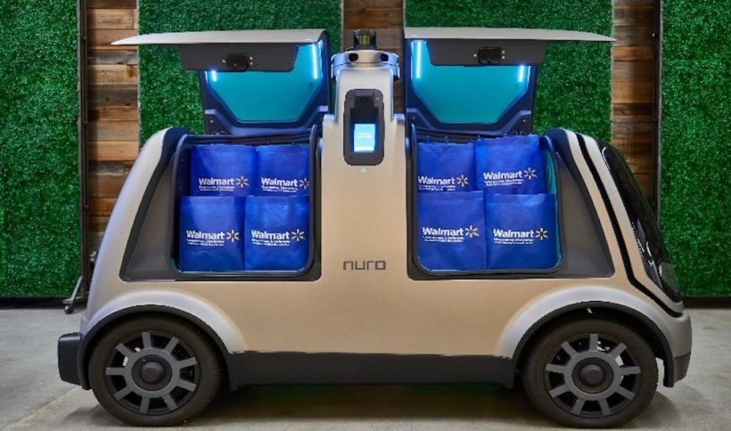 Walmart partners with self-driving startup to test grocery delivery