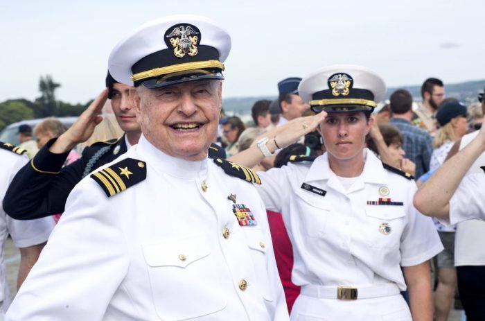 USS Arizona survivor gets hero's welcome in return to Hawaii